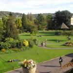 Die Gärten in Bath
