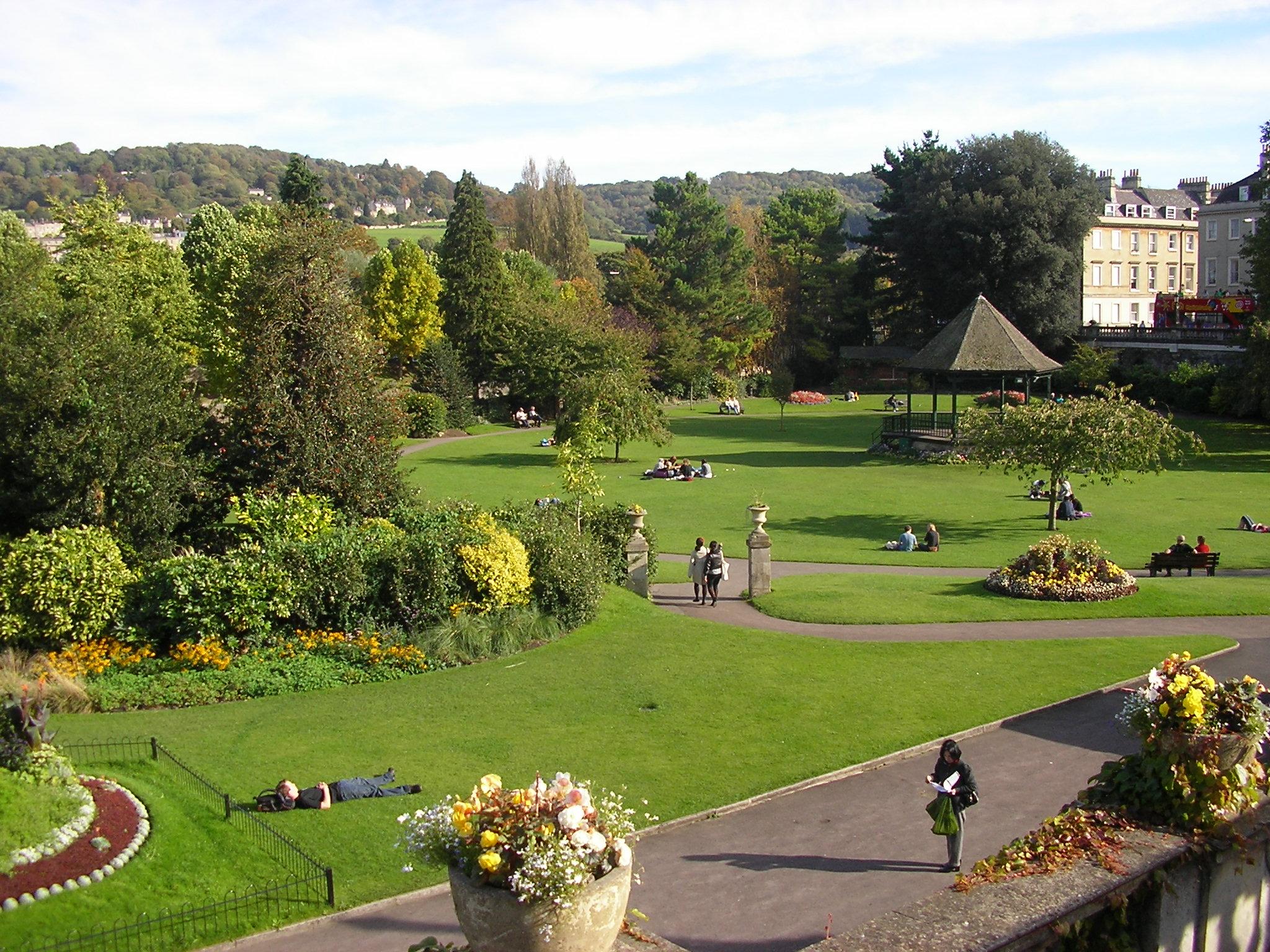 Englische Gärten Grossbritannienorg