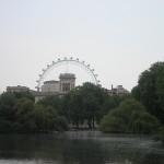 Ausblick über die ganze Stadt - London Eye
