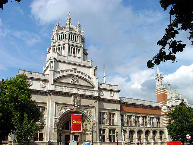 Victoria und Albert Museum in London