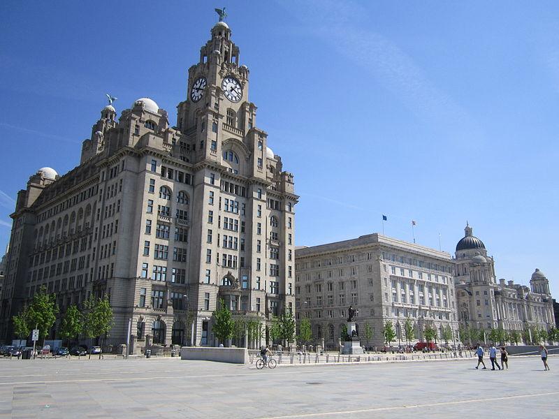 Die drei Grazien in Liverpool