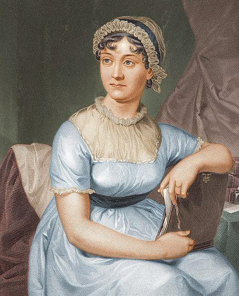 Porträt von Jane Austen