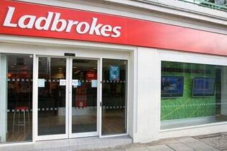 Ladbrokes Shop in Großbritannien